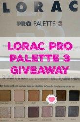 Lorac Pro eyeshadow palette 3