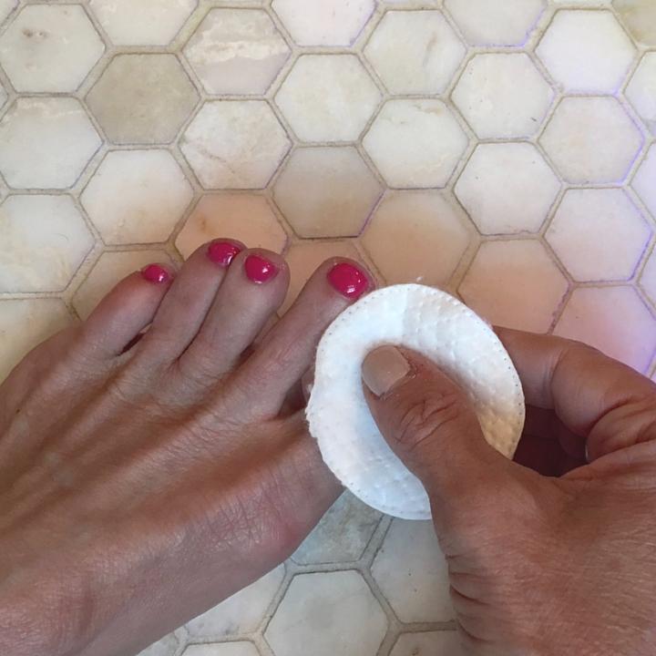 remove sticky layer