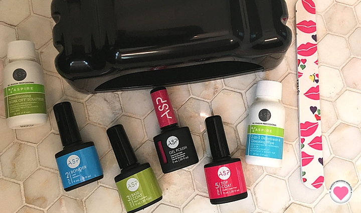 ASP soak off gel nail kit