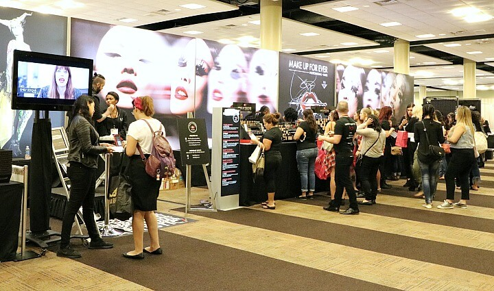 shopping the makeup show