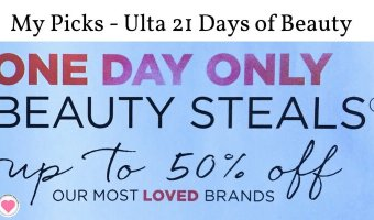 My Ulta 21 Days of Beauty Picks