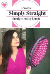 simply straight reduces frizz
