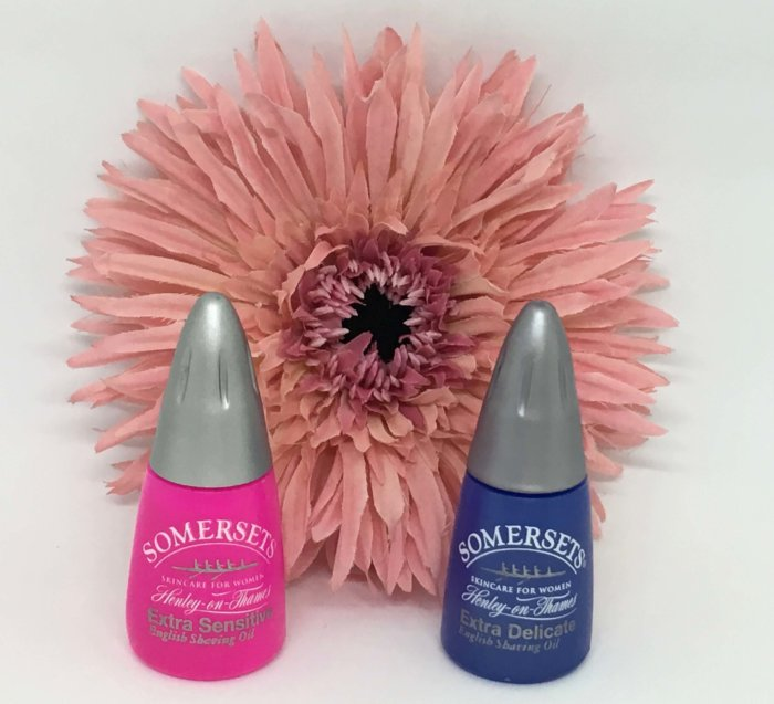 Somersets shave oils for women