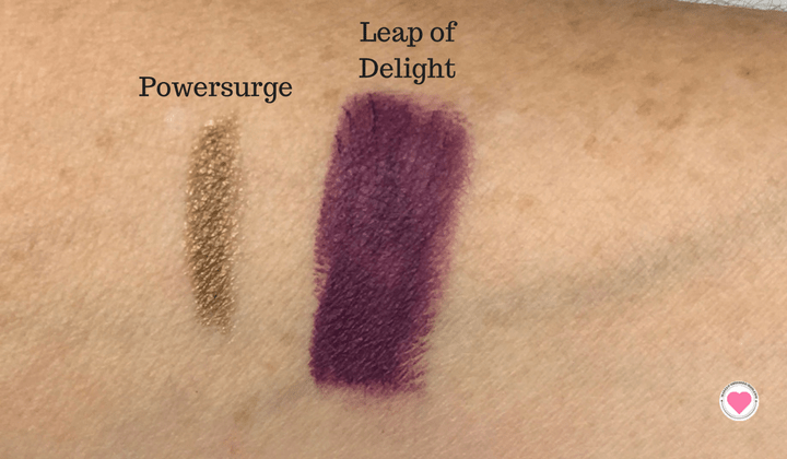 Mac holiday swatches