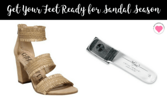 Get Your Feet Ready for Sandal Season