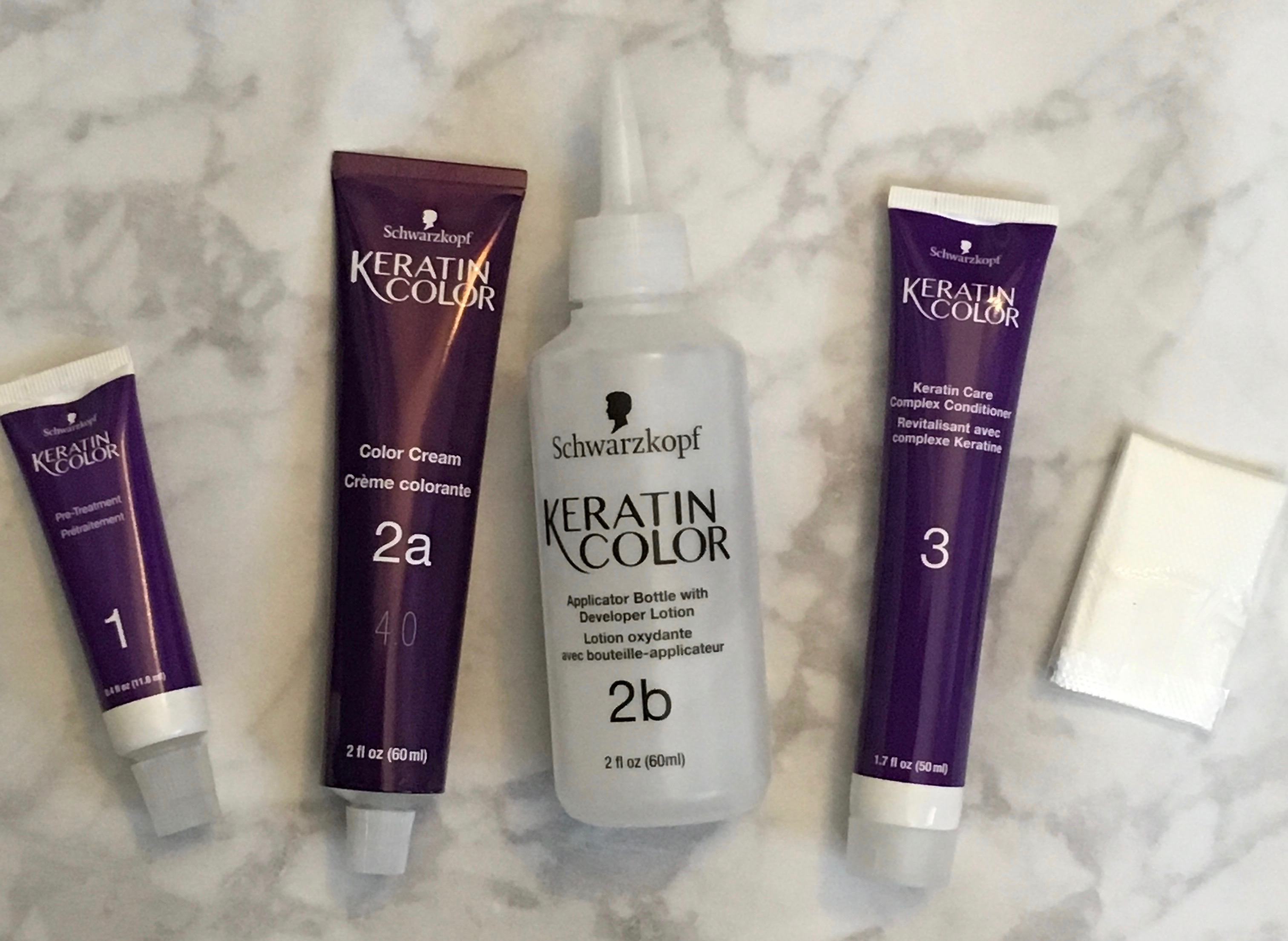 keratin color contents