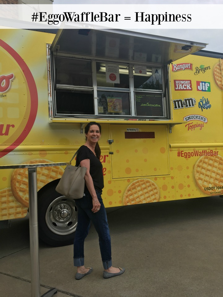 waffle truck at Walmart
