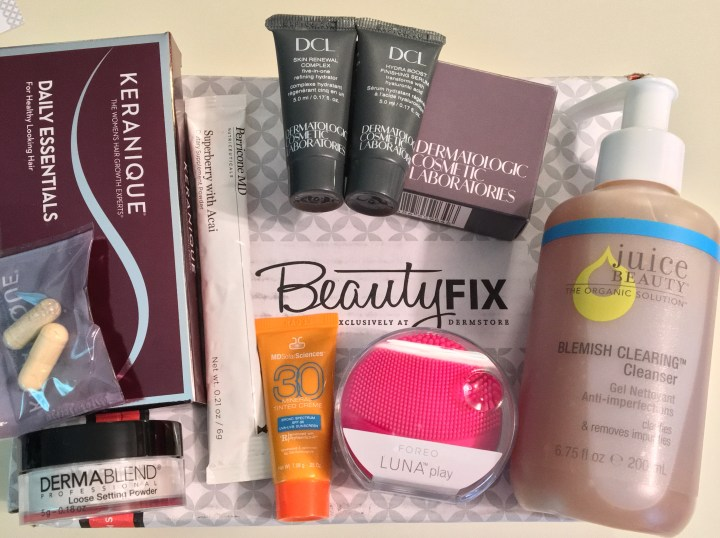 Dermstore beauty fix subscription box