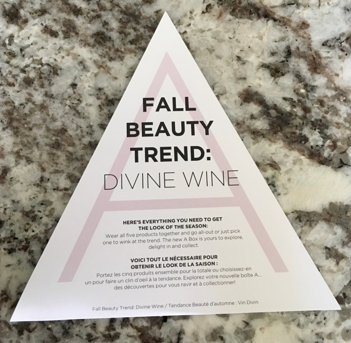 Divine Wine fall beauty trend