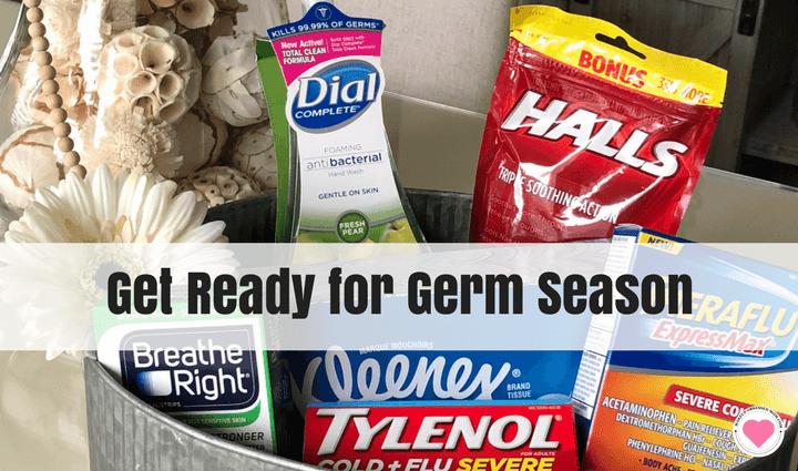 getting ready for germ season
