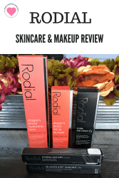 Rodial skincare and makeup review