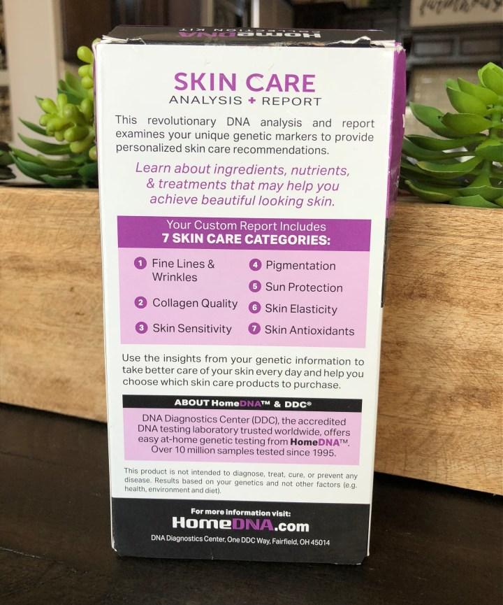 DNA skin care test