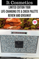 LIMITED EDITION YOUR LIFE-CHANGING EYE & CHEEK PALETTE REVIEW AND GIVEAWAY