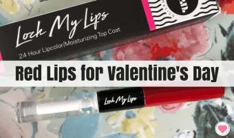 Red Lips for Valentine's Day