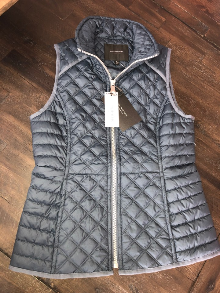 puffer vest from Marc New York