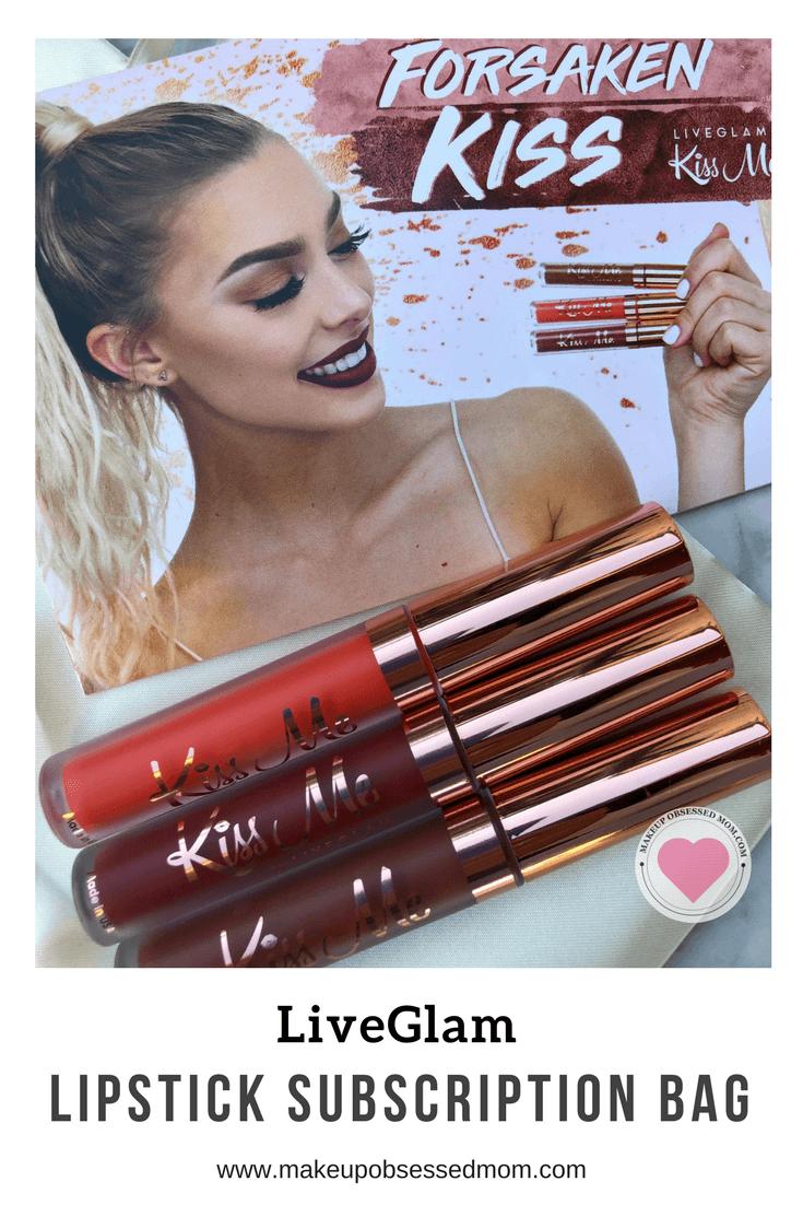 LiveGlam Lipstick Subscription Bag - Forsaken Kiss