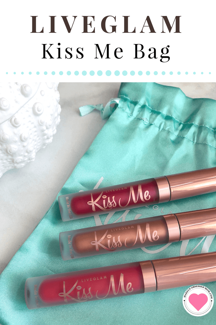 The Social Butterfly Kiss Me Live Glam Bag