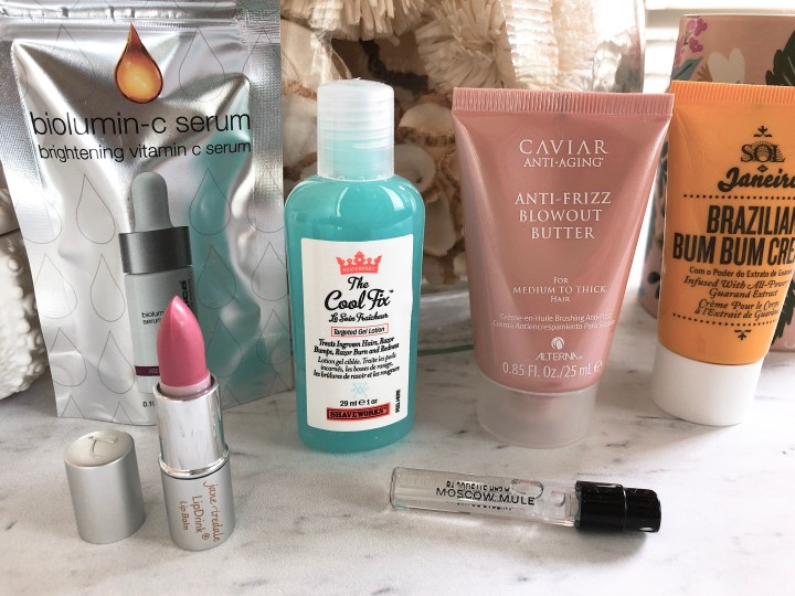 BeautyFix sample size products