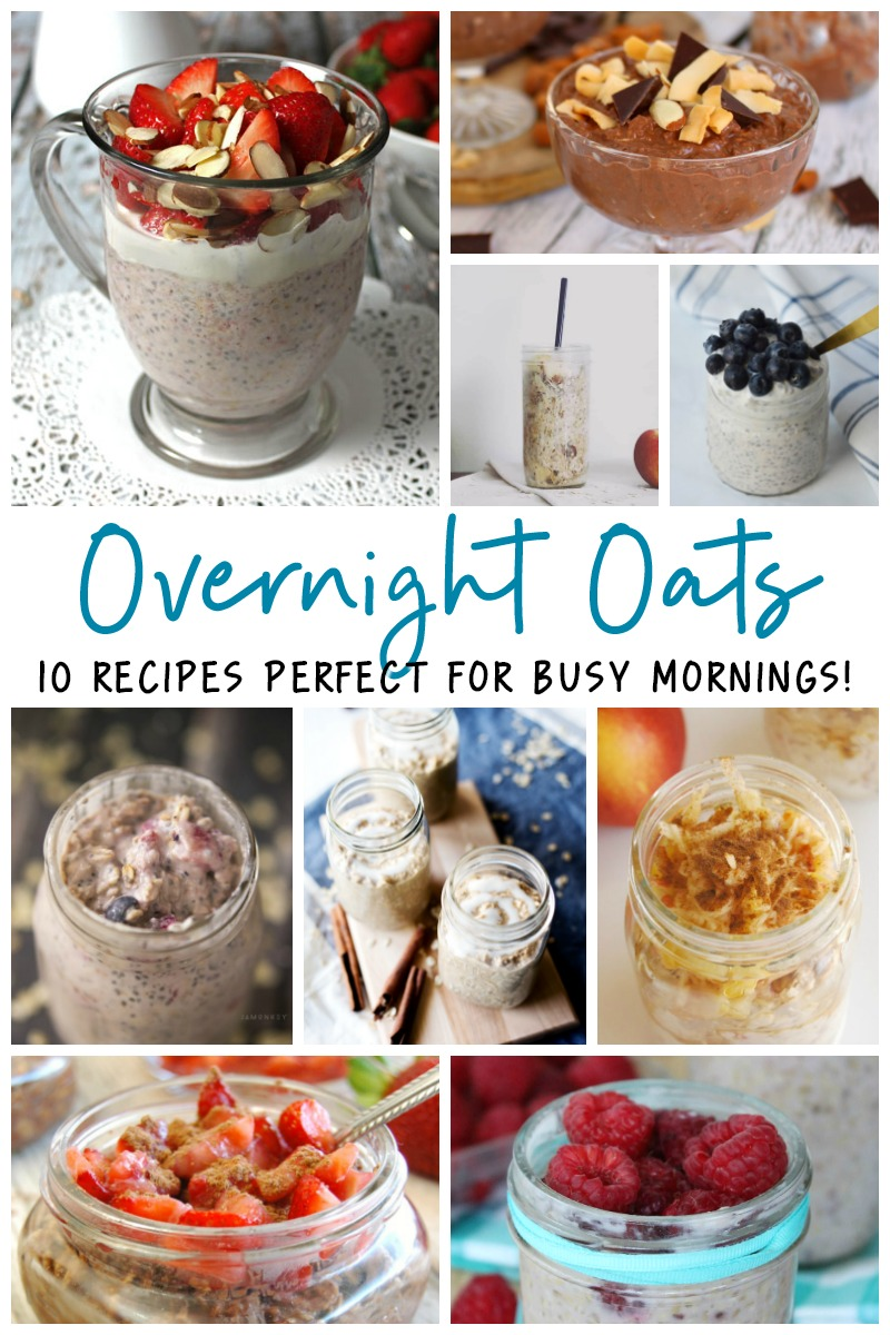 Delicious and Easy Overnight Oats Recipes