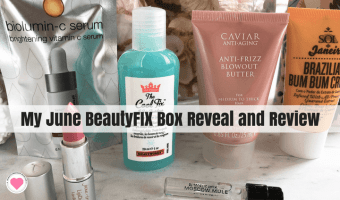 My June BeautyFIX Box Reveal and Review