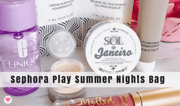 Sephora Summer Nights June beauty bag