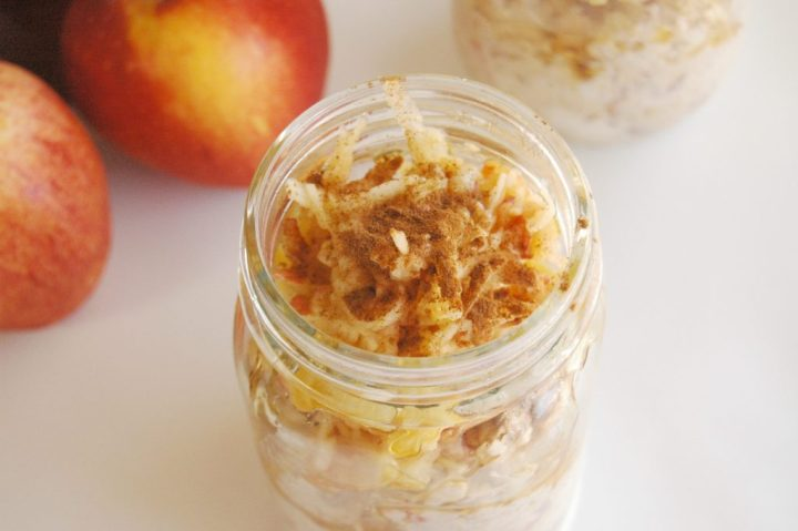 honey apple cinnamon oats