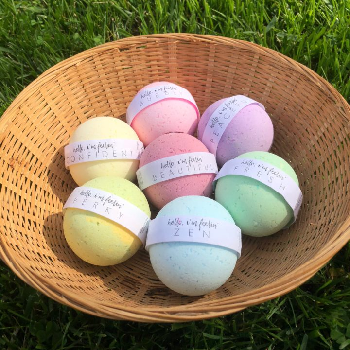 Honey Belle bath bombs