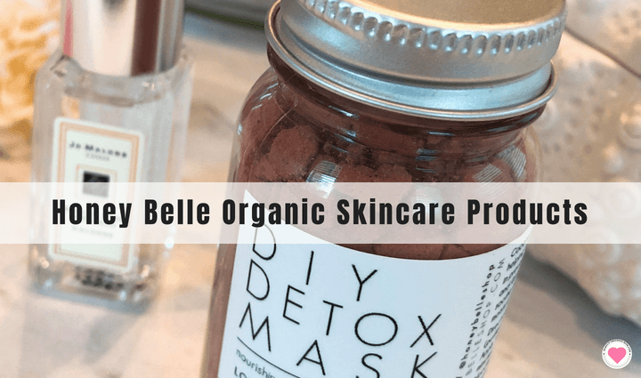 Honey Belle organic skincare products