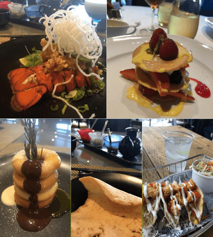 Alaska cruise meals