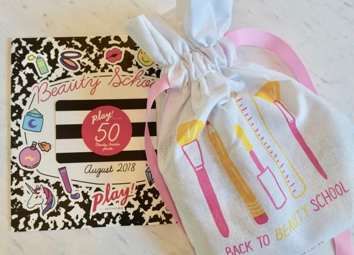 Back to School Sephora Play Bag