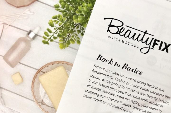back to basics with BeautyFIX