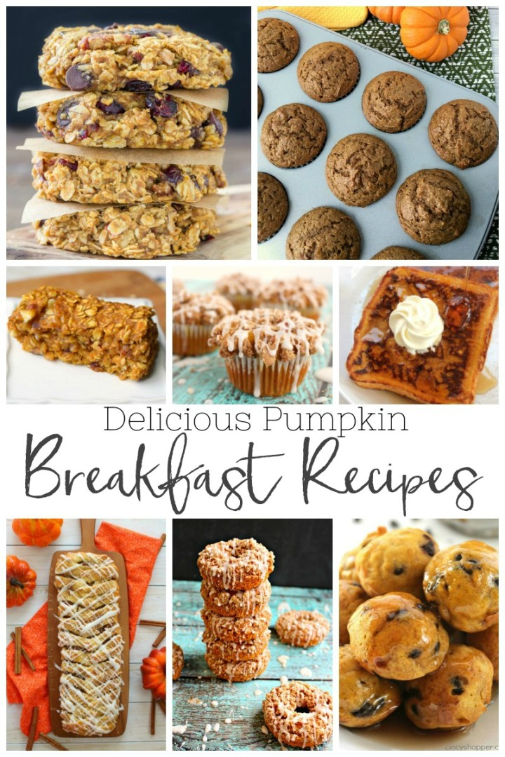 favorite pumpkin breakfast recipes