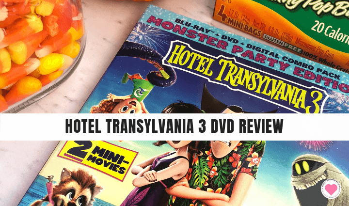 Hotel Transylvania 3 DVD Review
