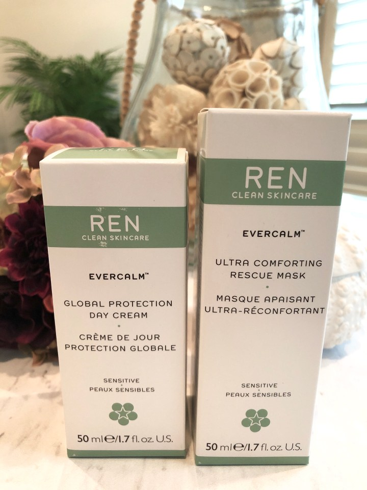 REN clean skincare products
