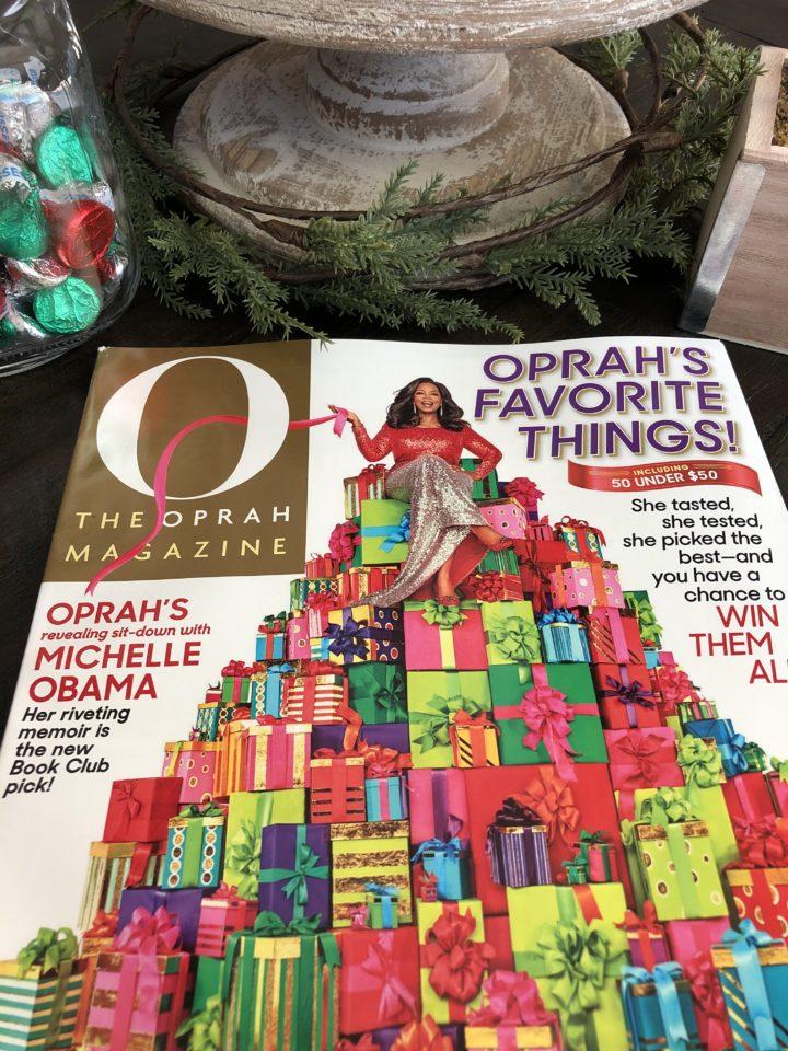 Oprah's Favorite Things event 2018