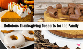 delicious Thanksgiving dessert recipes