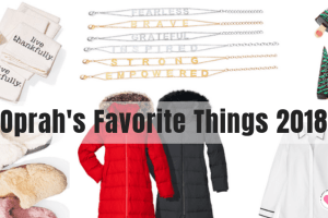 Oprah's favorite things 2018