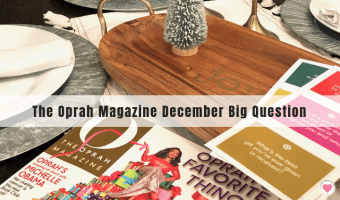 Oprah Magazine Year of Big Questions