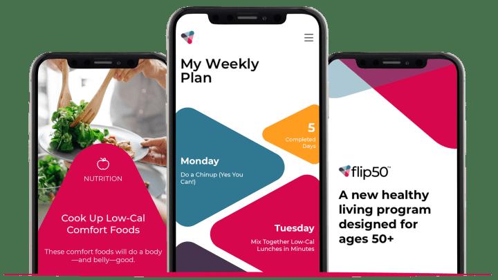 flip50 phone app