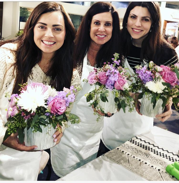 flower arranging class