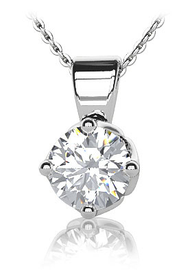 one of the diamond pendants from Anjolee