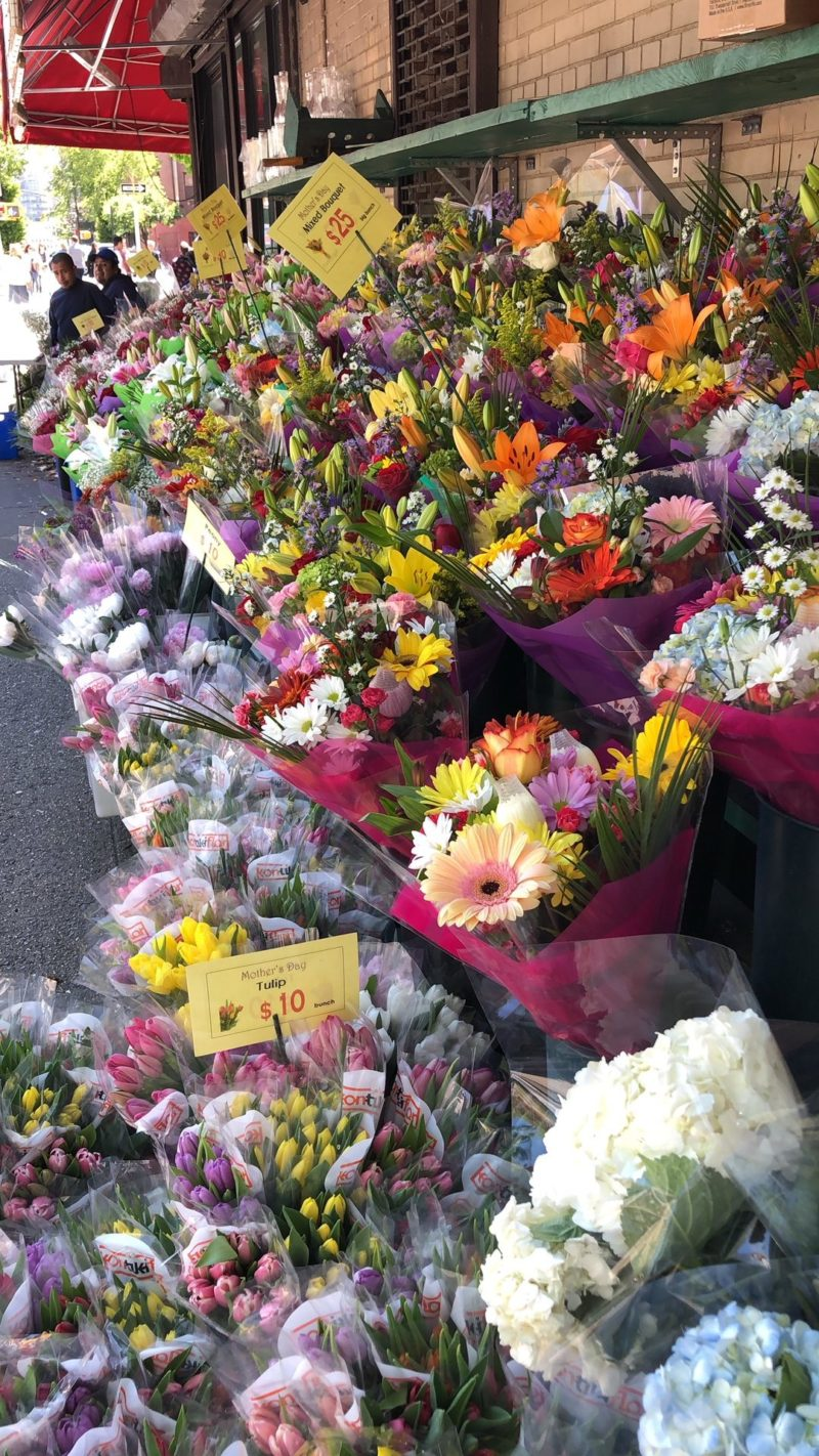 flower market Greenwich Village