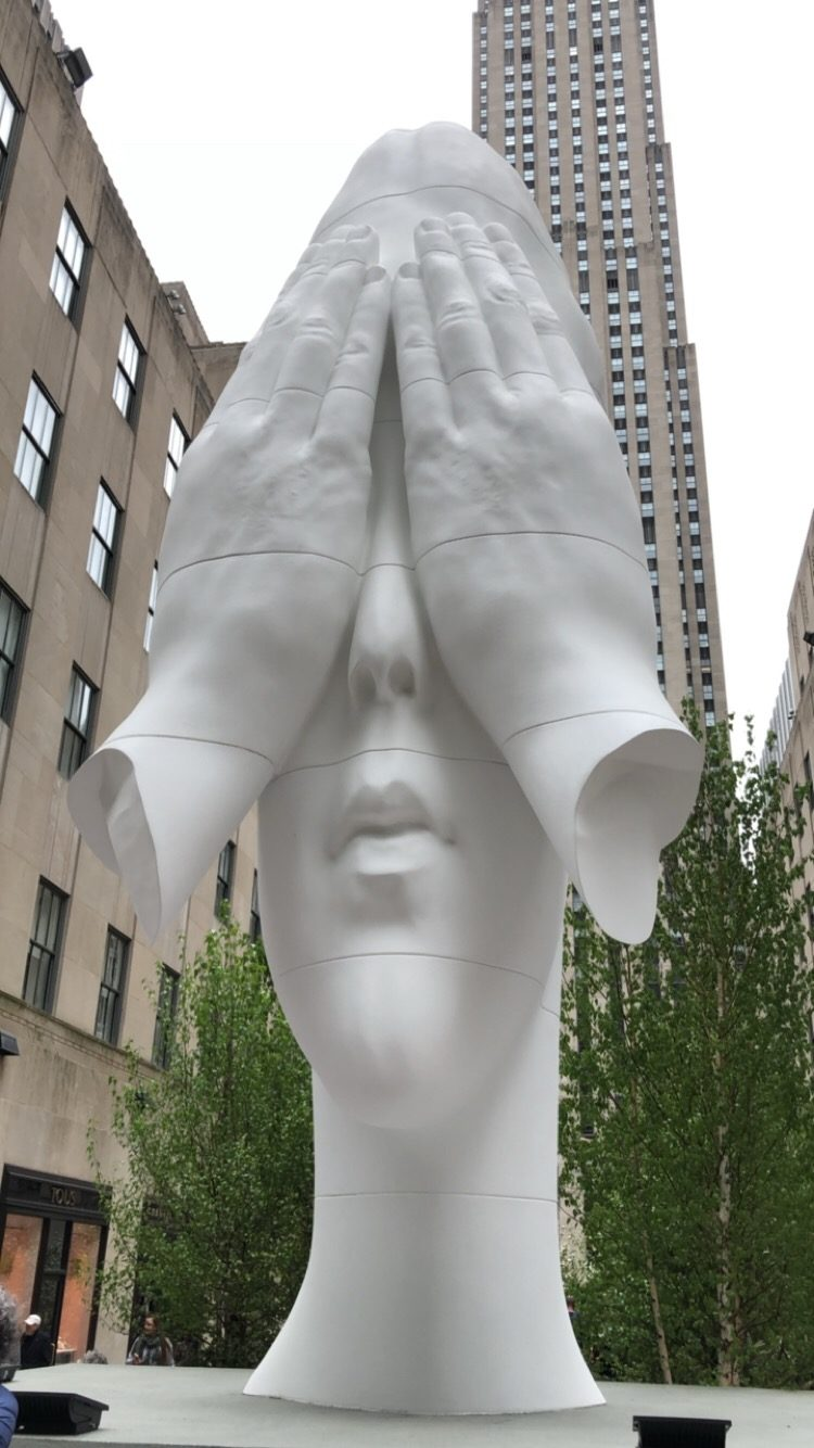 New York city statue
