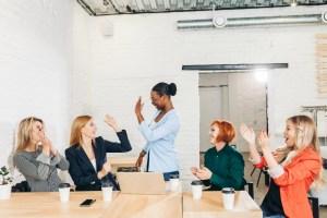 empowered women at work