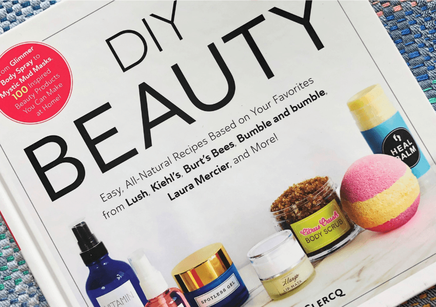 DIY Beauty recipe book