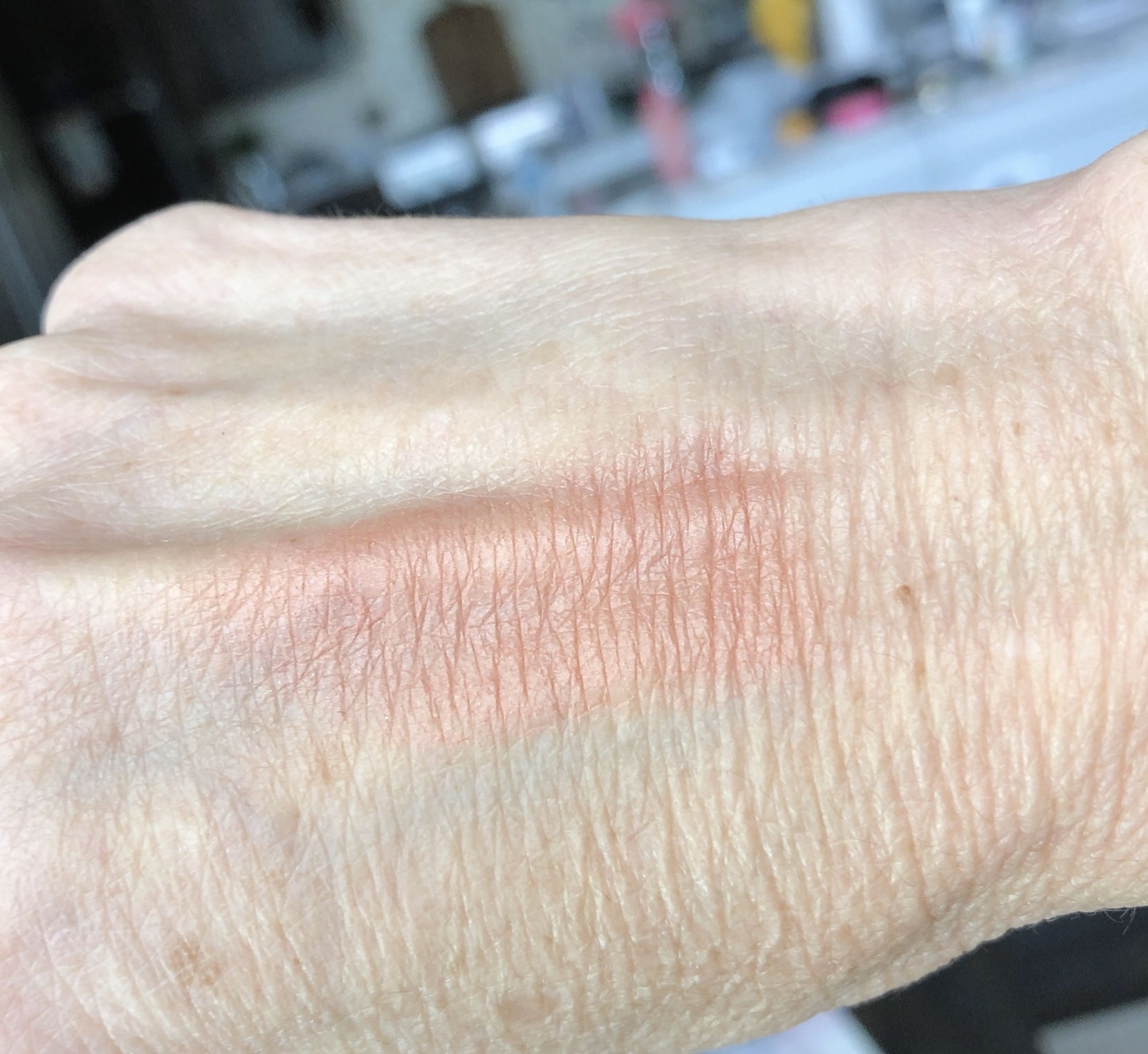 Milani baked blush sunset passione swatch