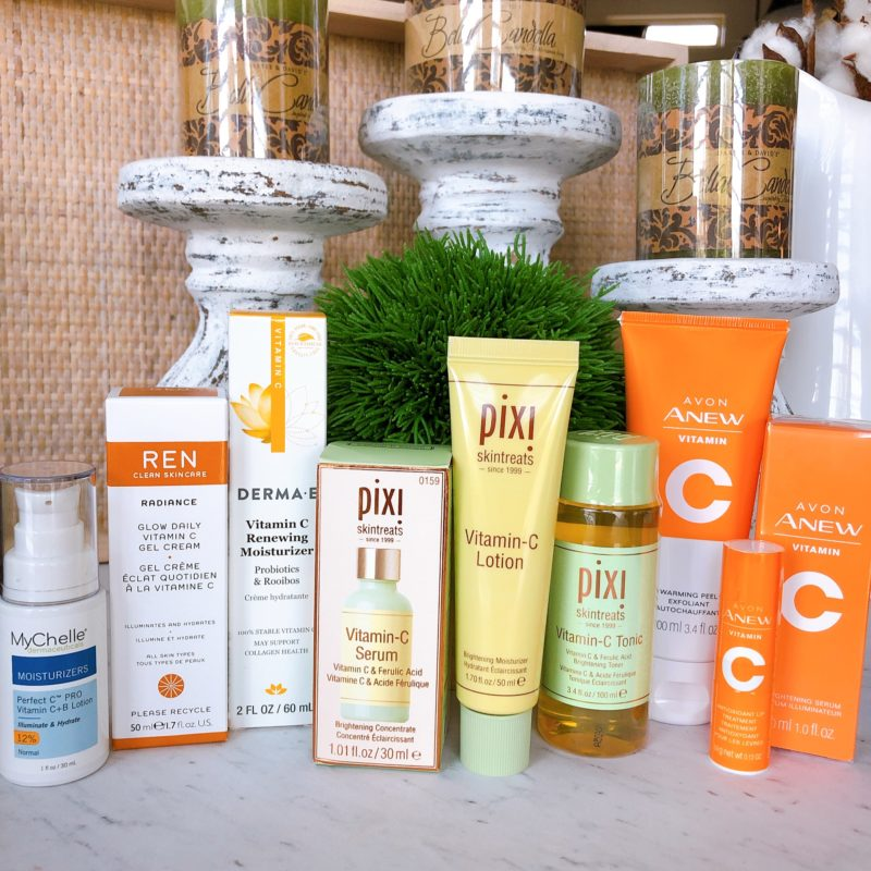 vitamin c skincare products