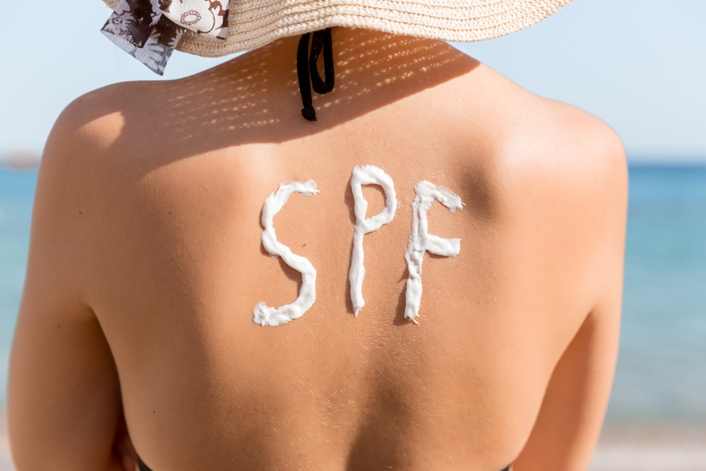 apply SPF daily
