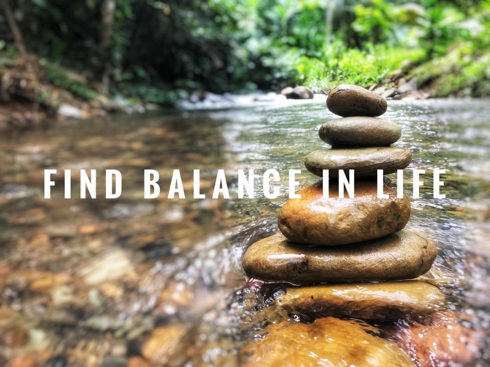 life balance quote