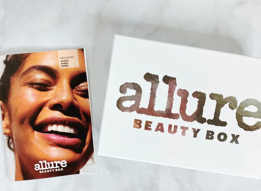Allure beauty subscription box